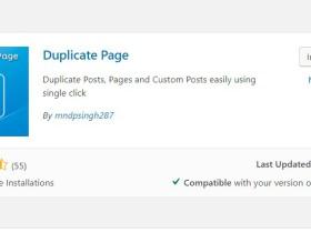 如何在Wordpress里面复制产品或者页面等的记录