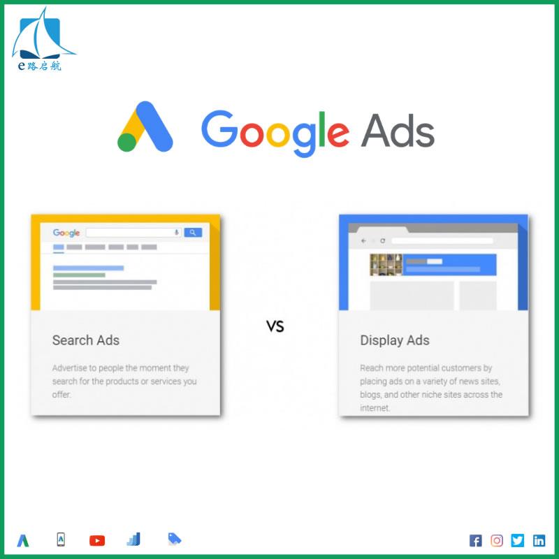 谷歌广告的形式